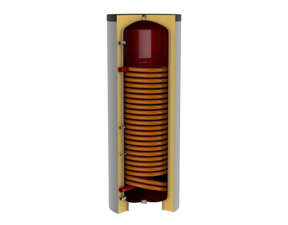 bollitore smart 1 hp per pompe di calore
