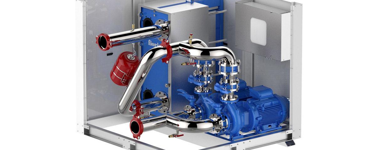 free cooling station moduli idraulici plug & play