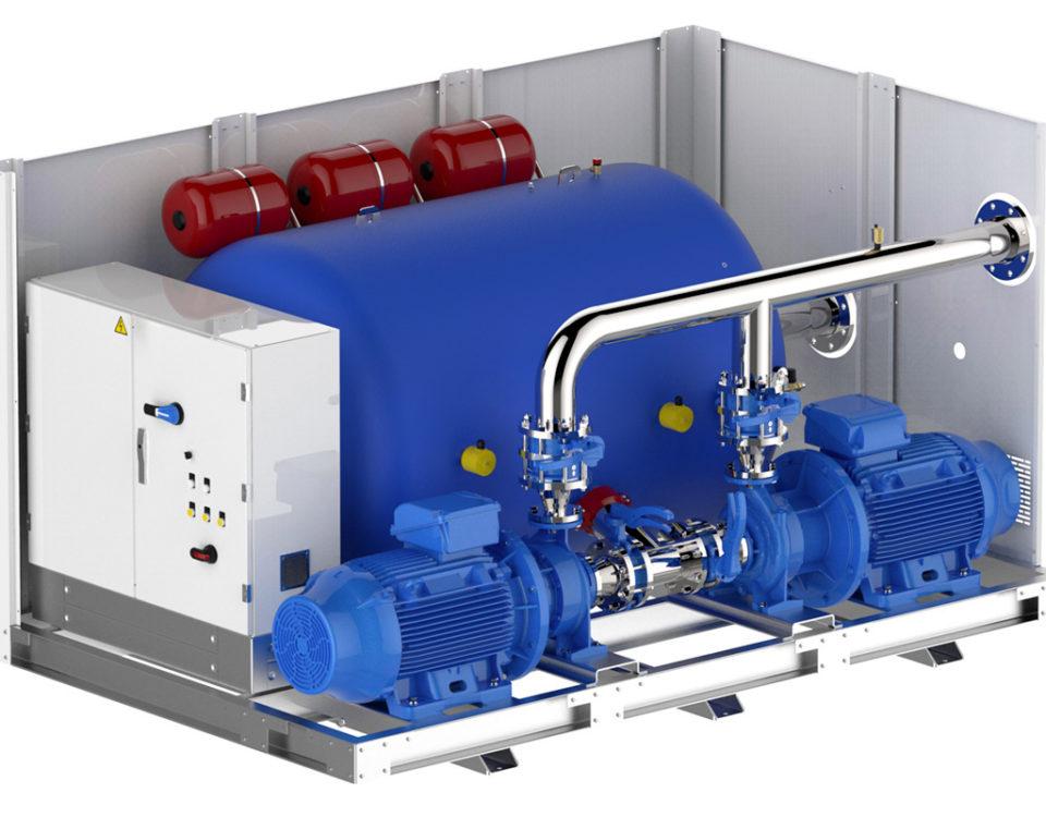 kit idronici powerful per centrali di riscaldamento e refrigerazione