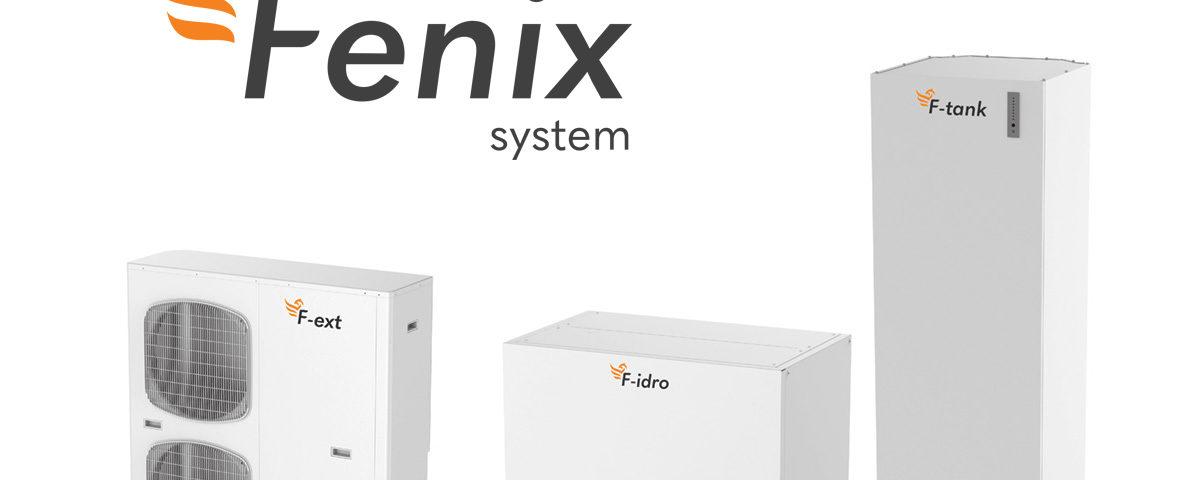 pompa di calore ibrida per climatizzazione e produzione acs Fenix