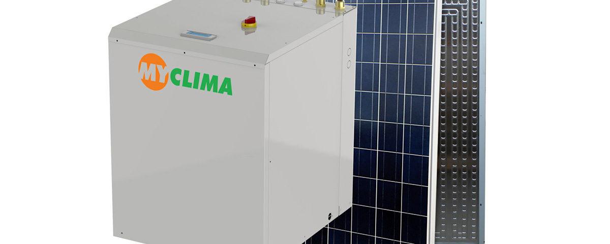 sistema ibrido a pompa di calore IANUS green technology