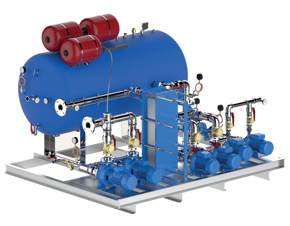 sistemi su skid per impianti industriali