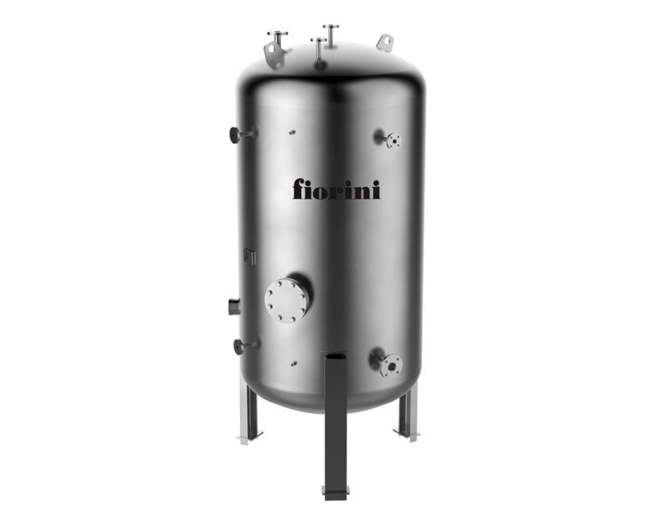 vasi di espansione VO recipienti in pressione per olio diatermico