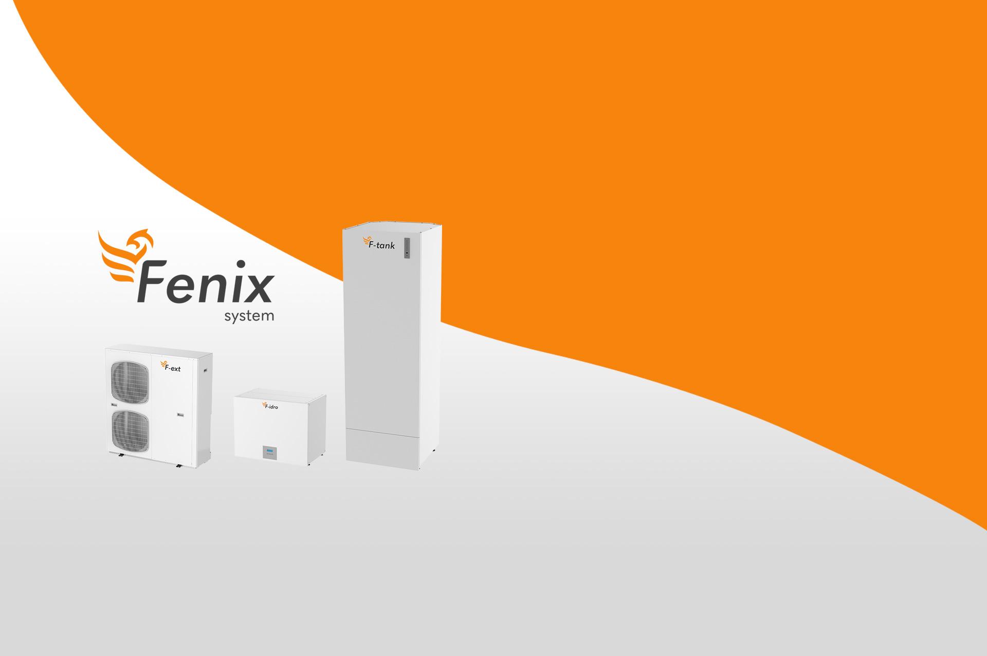 Sistema Fenix Pompa di Calore espansione diretta, idronica e recupero calore per acs