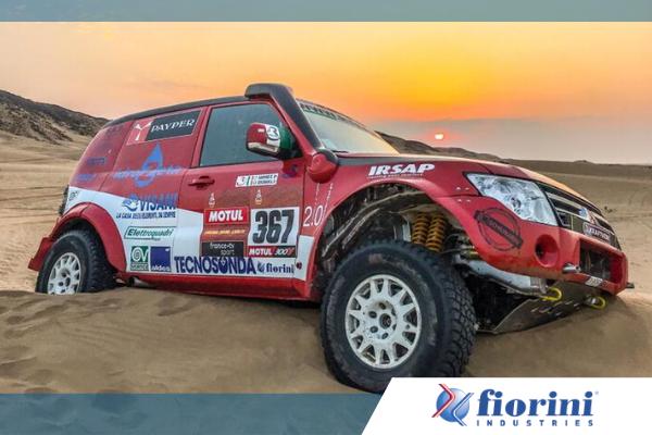 fiorini sponsorizza il Pajero WRC nella Dakar dell'Arabia Saudita